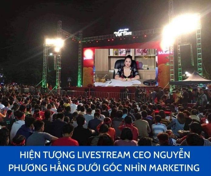 Nguyễn Phương Hằng live stream